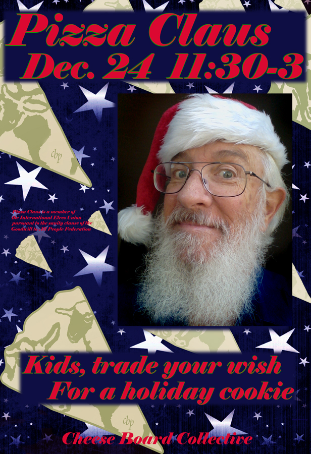 Pizza Claus poster web
