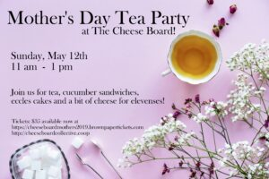 mothers day tea event